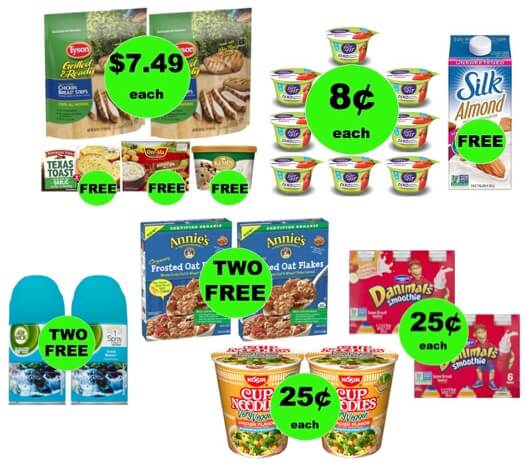 FIVE (5!) Deals 25¢ Each or Less (Some as low as FREE!) at Winn Dixie Ad Starts 1/17/18!