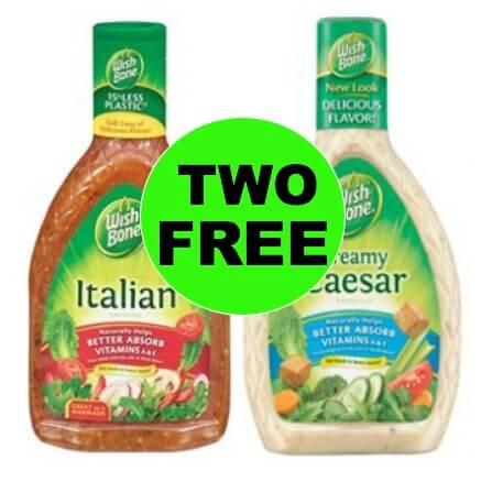 Get Your TWO (2!) FREE Wishbone Salad Dressing at Winn Dixie! (1/24-1/30)