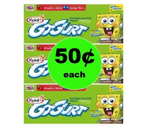 Don't Miss Out on Stocking Up with 50¢ Yoplait Go-Gurt at Target! (Ends 1/8)
