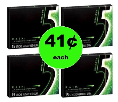 Chew on This! Get 41¢ 5 Gum Singles at Target! (Ends 2/10)