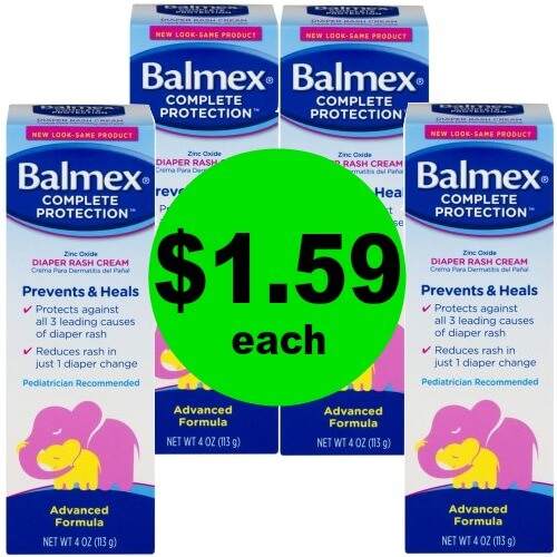 Soothe Their Bottom with Balmex Diaper Rash Cream for $1.59 Each (Save $3) at Publix!