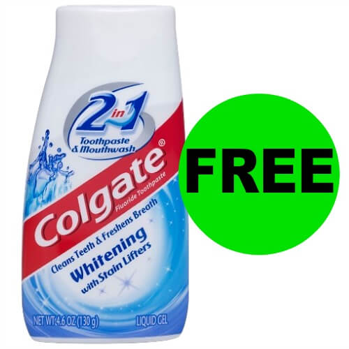 Pick Up FREE Colgate Toothpaste at CVS! (4/8-4/14)