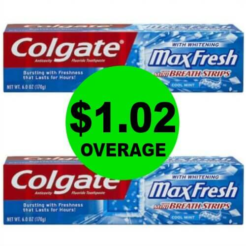 TWO (2!) FREE + $1.02 OVERAGE on Colgate Toothpaste at CVS! (3/4 – 3/10)