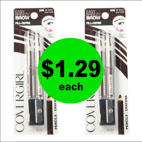 Freshen Up Your Makeup with CoverGirl Brow & Eyeliner Pencils for Just $1.29 Each at CVS! (2/18 – 2/24)