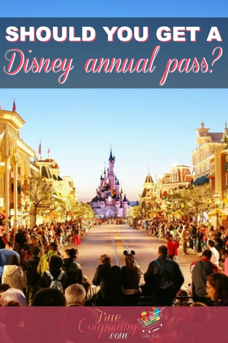 Is a Disney Annual Pass a right fit for your family? Here's a great comparison of the passes and help choosing what's best for your family. #truecouponing #savings #disney #disneyworld #annualpassholder
