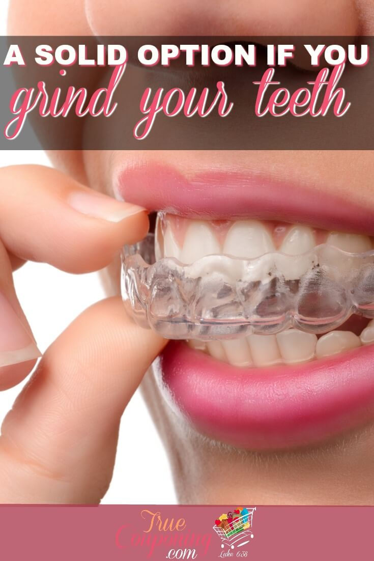 Under stress and grinding your teeth? This option will help ensure you don't ruin your teeth! #truecouponing #braces #teeth #invisalign #invisalignjourney