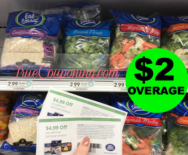 {UPDATE: NLA} FREE + $2 Overage on Eat Smart Bagged Veggies at Publix!