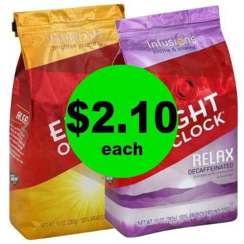 Enjoy a Warm Cup of Coffee! Pick Up $2.10 Eight O'Clock Coffee Bags at Publix! (Ends 2/27 or 2/28)
