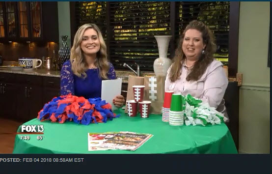 Fox Savings Segment ~ How to Throw a Great Football Party Without Overspending