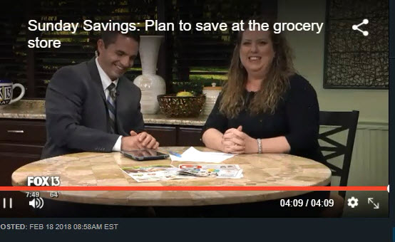 Fox Savings Segment ~ How to Lower Your Grocery Bill Right Now!