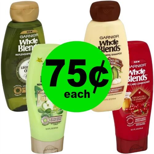 Nourish Your Hair with Garnier Whole Blends Hair Care for 75¢ Each at CVS! (2/18 – 2/24)