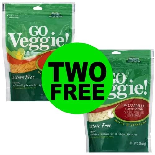Two Free Go-Veggie Cheese Shreds at Publix! (Ends 4/17 or 4/18)