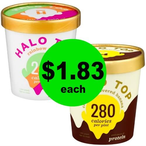 Trim Healthy Mama Favorite! Pick Up Halo Top Low Carb Ice Cream for $1.83 Each at Publix! (2/21-2/27 or 2/22-2/28)