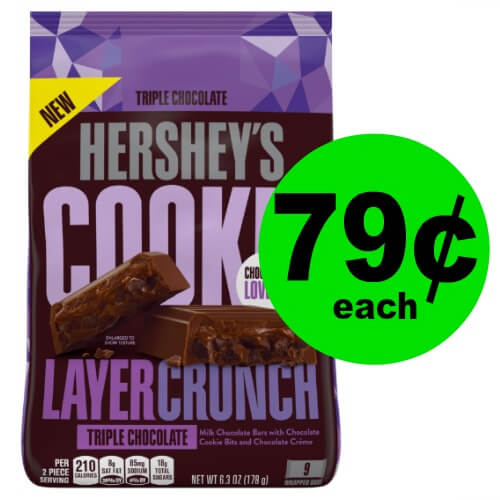 Chocolate Alert! Snag Hershey's Cookie Layer Crunch Bag for 79¢ at CVS! (2/11 – 2/17)