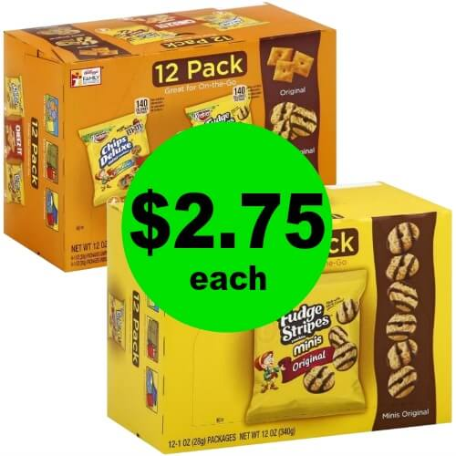 Snack Away with $2.75 Keebler or Cheez-Its Tray Packs at Publix! (Ends 2/27 or 2/28)