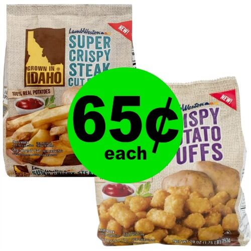 Lamb Weston Grown In Idaho Fries, Hashbrowns or Potato Puffs are 65¢ Each at Publix! (Ends 2/6 or 2/7)