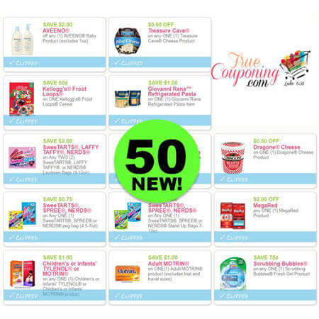 WHOA! FIFTY (50!) NEW Coupons Came Out This Weekend! PRINT Now!