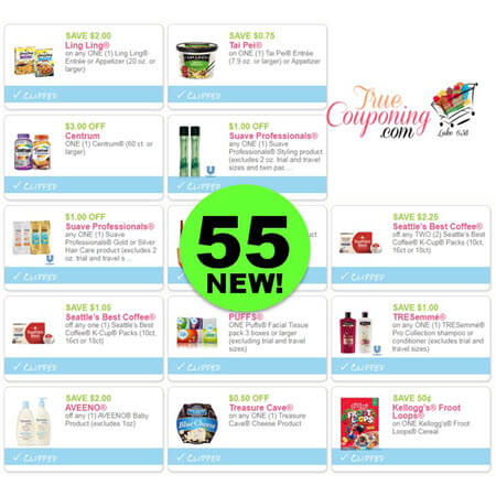 LOOK! There's (55!) NEW Coupons To Print This Week! Save on Centrum, Suave, CoverGirl & More!