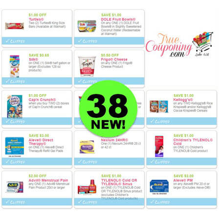 Did You PRINT The Thirty-Eight (38!) Coupons Out This Week? Save on Aleve, Carmex, Colgate & More!