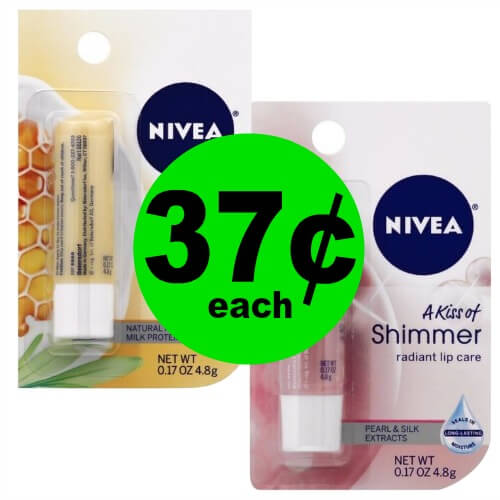 Stock Up on 37¢ Nivea Lip Balm at Publix! (2/24 – 3/3)