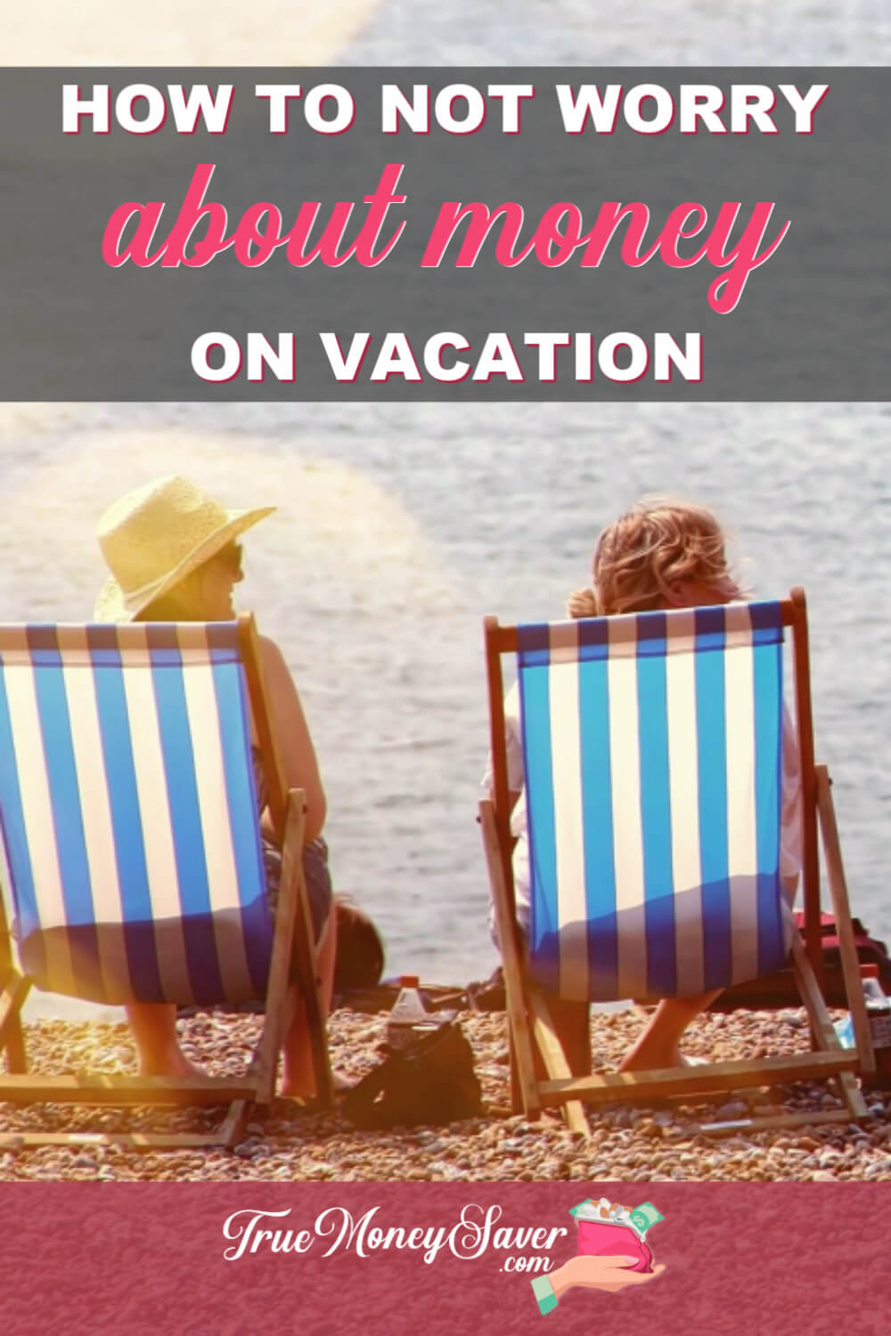 how to not worry about money