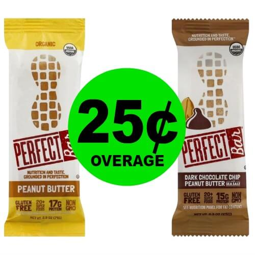 TWO (2!) FREE + 25¢ OVERAGE on Perfect Bar at Publix! (Ends 2/20 or 2/21)