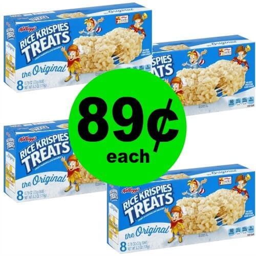 Send a Treat with 89¢ Rice Krispies Treats at CVS! (Ends 2/10)