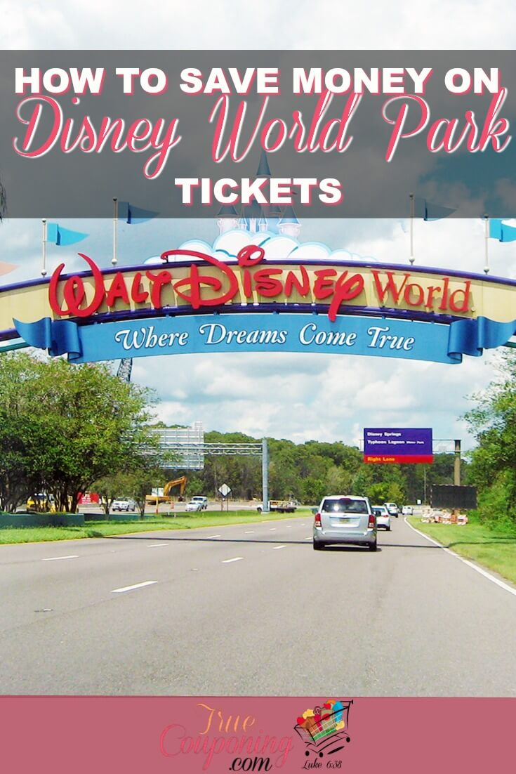 If you are planning a Disney vacation for your family, you don't need to dish out a ton of money on tickets to have a great time! #disneyworld #truecouponing #savingmoney #disneyfun