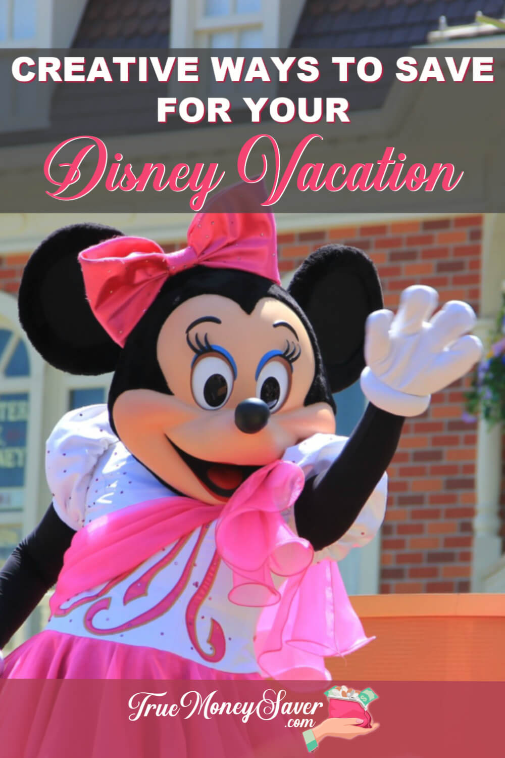 Need to boost your Disney vacation fund? You save up more for your trip without having to get a second job. #truemoneysaver #savings #disney #familyvacation #debtfree #disneymagic #disneyaddict #disneylove