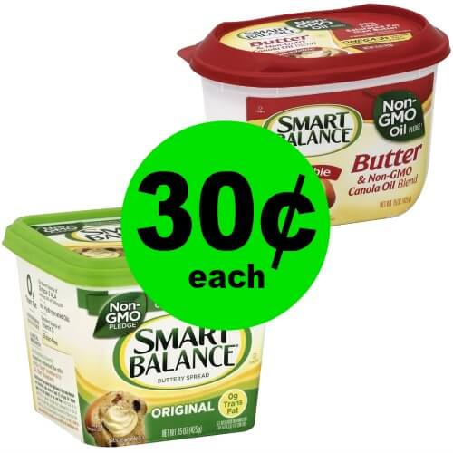 Pick Up TWO (2) Tubs of Smart Balance Spread for 30¢ Each at Publix! (2/7-2/13 or (2/8-2/14)