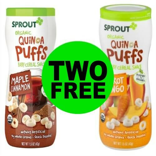 Happy Baby! TWO (2!) FREE Sprout Organic Quinoa Puffs at Publix! (Ends 2/21)
