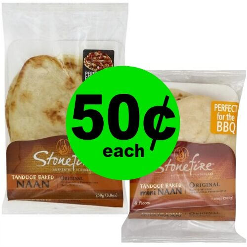 Stonefire Naan, Pizza Crust or Flatbread As Low As 50¢ Each at Publix! (Ends 2/6 or 2/7)