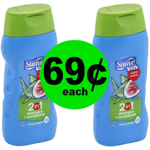 There's No Tears Over 69¢ Suave Kids Hair Care at Publix!(Ends 5/26)