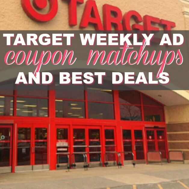 YOWZER! There Are FIVE (5!) FREEbies & EIGHT (8!) Deals JUST 65¢ Each or Less! Target Coupon Matchups Best Deals (3/18 – 3/24)