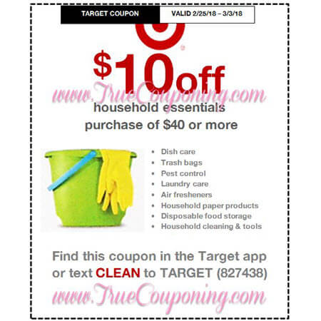 Heads Up! This Sunday (2/25/18) We're Getting THREE (3!) Target Coupons: Pepsi, Household & Health Care!