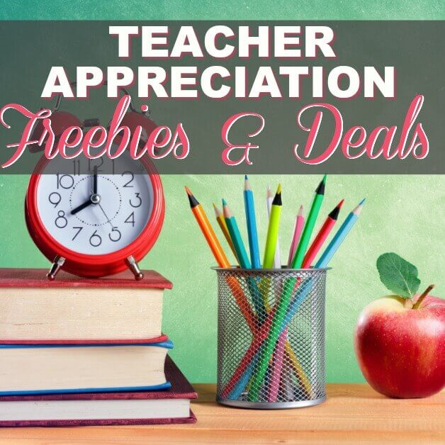 ?Teacher Appreciation FREEbies Last All Year!