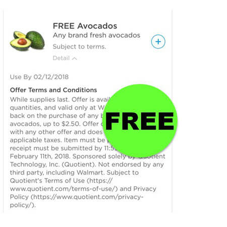 FREE Fresh Avocados at Walmart! (Ends 2/11)