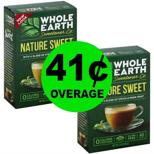 Get TWO (2!) FREE + 41¢ OVERAGE on Whole Earth Sweetener Co at Publix! 2/22 – 2/28 (or 2/21 – 2/27)