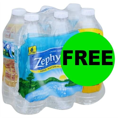 Thirsty?! Get Your FREE Zephyrhills or Deer Park Water 6 Packs at Publix! (2/17 – 2/25)