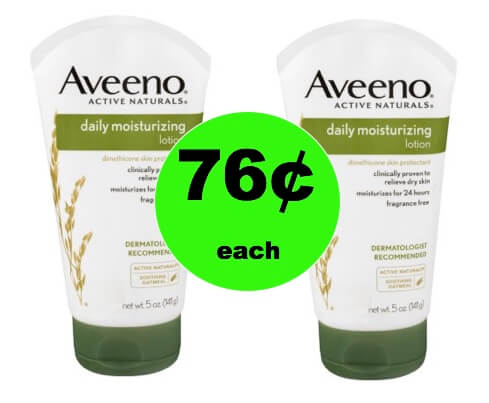 Your Skin Will Love 76¢ Aveeno Daily Moisturizing Lotion at Walmart! (Ends 2/11)
