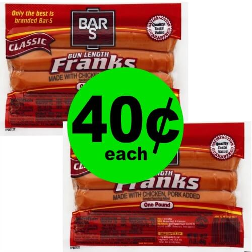 (Update: NLA) Fire Up the Grill! Grab Bar S Classic Bun Length Franks for 40¢ Each at Publix! (Ends 2/13 or 2/14)