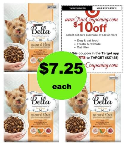 Pounce on Purina Bella Dog Food Just 60¢ Per Pound at Target! (Ends 2/24)