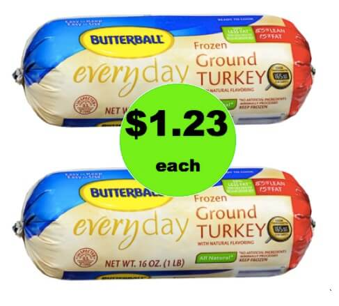Gobble Up $1.23 Butterball Ground Turkey Pound Chubs at Walgreens! (Ends 2/24)