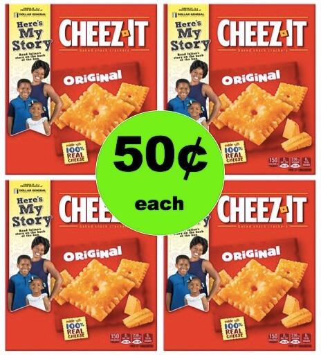 Snack On 50¢ Cheezit Crackers at Winn Dixie! (Ends 3/6)