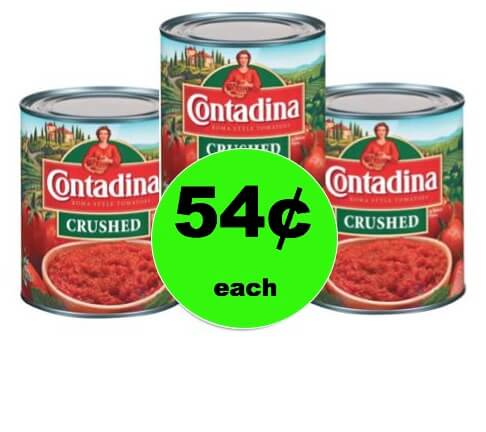 Stock Up on 54¢ Contadina Canned Tomatoes at Walmart!
