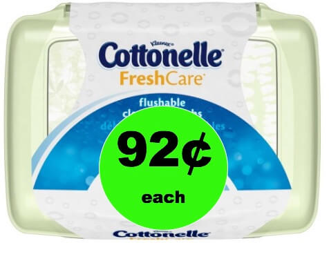 Freshen Up with 92¢ Cottonelle Cleansing Cloths at Target! (Ends 2/18)