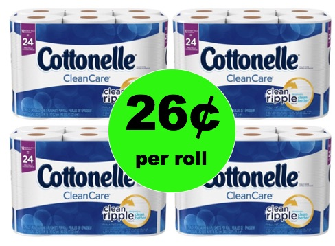 STOCK UP on Cottonelle Bath Tissue Only 26¢ Per Roll at Winn Dixie! (Ends 2/18)