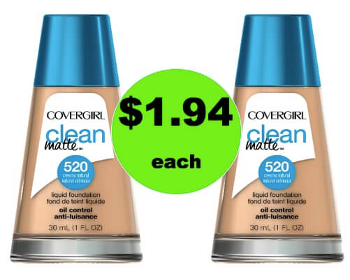 (Updated: Ibotta NLA) Save Over 65% with $1.94 CoverGirl Clean Makeup at Walmart! (Ends 3/24)