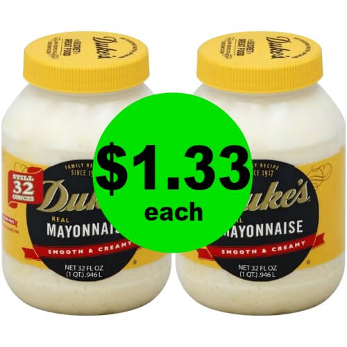 Duke's Mayonnaise is $1.33 Each (After Rebate) at Publix! (Ends 2/20 or 2/21)