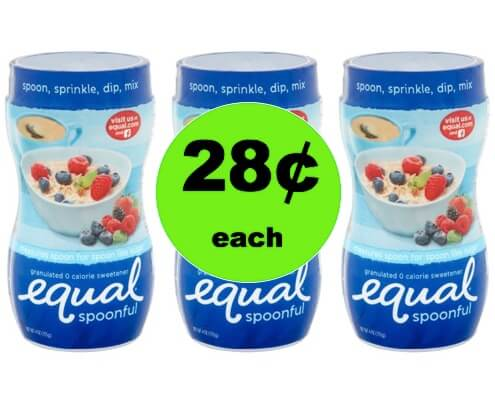 SA-WHEET! Get 28¢ Equal Spoonful Granulated Sweetener at Walmart! (Ends 3/23)
